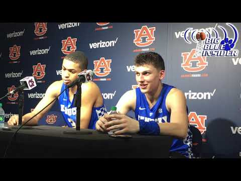 Keldon Johnson and Tyler Herro post Auburn