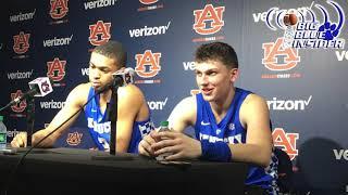 Keldon Johnson and Tyler Herro post Auburn