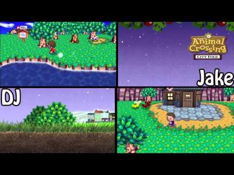 Animal Crossing: City Folk Multiplayer - 1 - Beach Front Property
