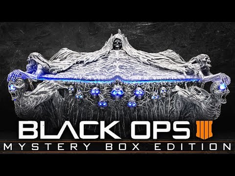 "BLACK OPS 4 ZOMBIES ""MYSTERY BOX EDITION"" - COLLECTORS EDITION WITH ZOMBIES MYSTERY BOX!"
