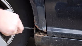 Rust treatment for cars DIY and save thousands