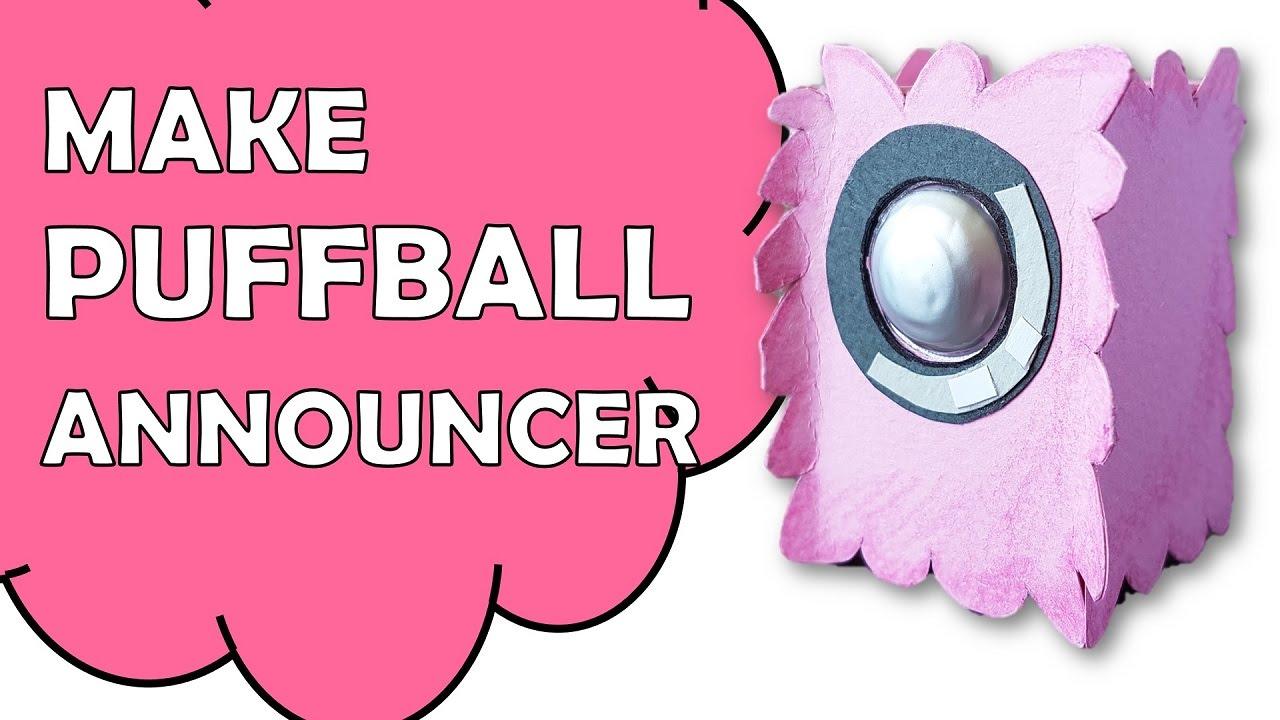 Make Bfdi Puffball Announcer Youtube