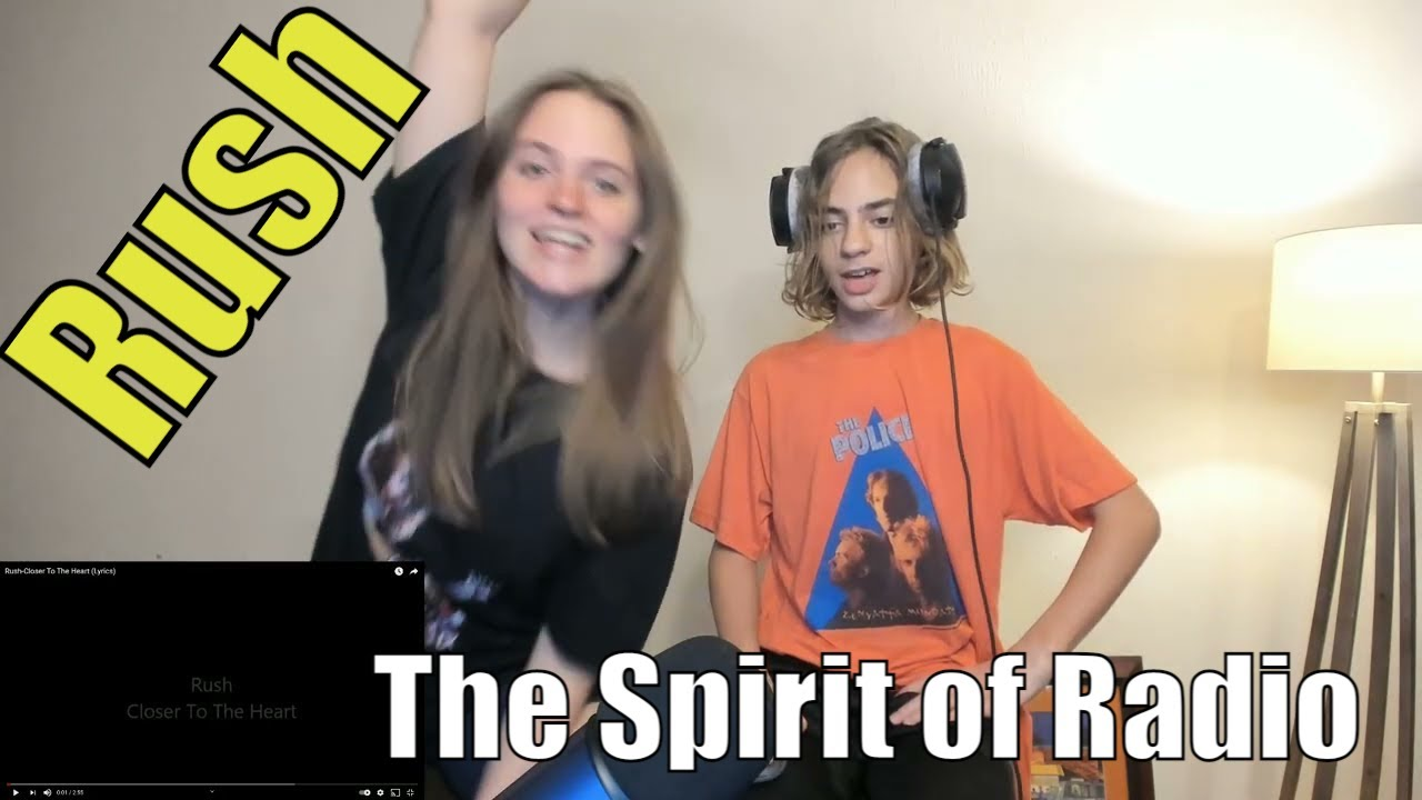Teens Reaction - Rush | The Spirit Of Radio