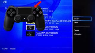 How To Delete Clip Recordings On PS4 - Playstation 4 Tutorial