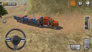 USA Truck Driving School Off-road Transport Games Android Gameplay