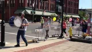 Athol Public Library Shopping Cart Parade