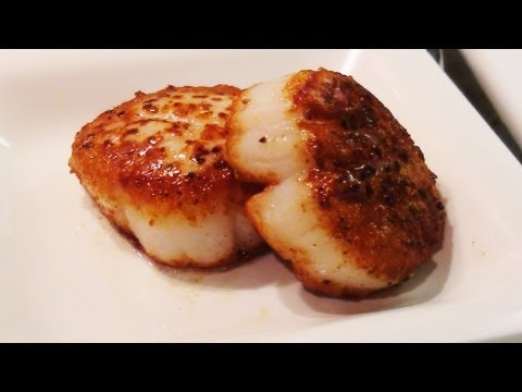 How To Sear Scallops - NoRecipeRequired.com