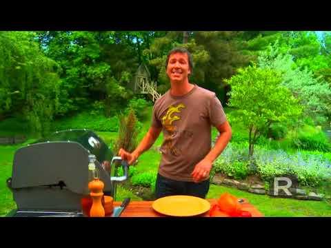 comment griller des poivrons sur le barbecue ricardo cuisine youtube. Black Bedroom Furniture Sets. Home Design Ideas
