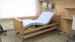 видео кровать медицинская для лежачих больных