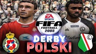 LEGIA WARSZAWA VS WISŁA KRAKÓW W FIFA 2005   POWRÓT DO PRZESZŁOŚCI