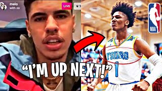 LaMelo Ball CALLS OUT Mikey Williams To A DUNK CONTEST!... | MIKEY is MAD?