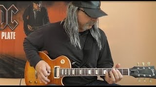 Airbourne - Cradle To The Grave - with Solo - cover by RhythmGuitarX
