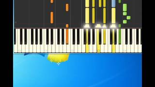 Ricky Nelson   Travelin' Man [Piano tutorial by Synthesia]