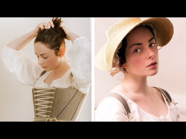 Getting dressed in the 18th century – working woman