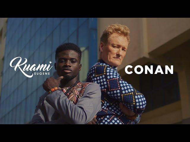 Kuami Eugene ft Conan O'Brien - For Love (Official Video)