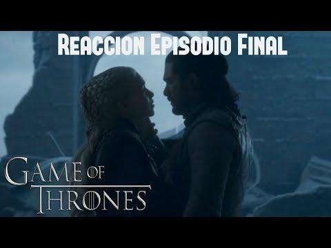 Reacción Ep. 6 Final de Game Of Thrones ¿Satisfactorio o Absurdo?