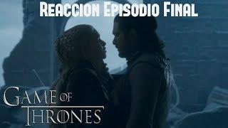 Reacción Ep. 6 Final De Game Of Thrones ¿satisfactorio O Absurdo