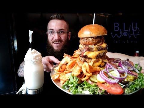 Blu Wolf Bistro's Burger Challenge