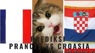 Prediksi croasia vs prancis piala dunia 2018