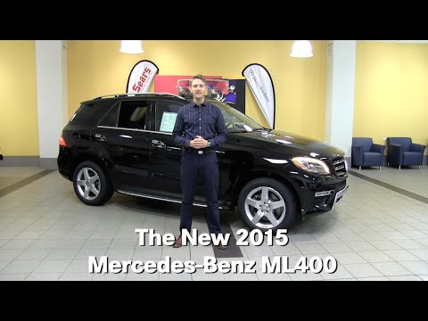 The All New 2015 Mercedes-Benz ML400 M-Class Minneapolis Minnetonka Wayzata MN ML400