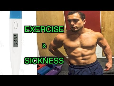 Exercise & Sickness | Can/Should You Workout While You're Sick?