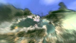 Google Earth zoom out effect