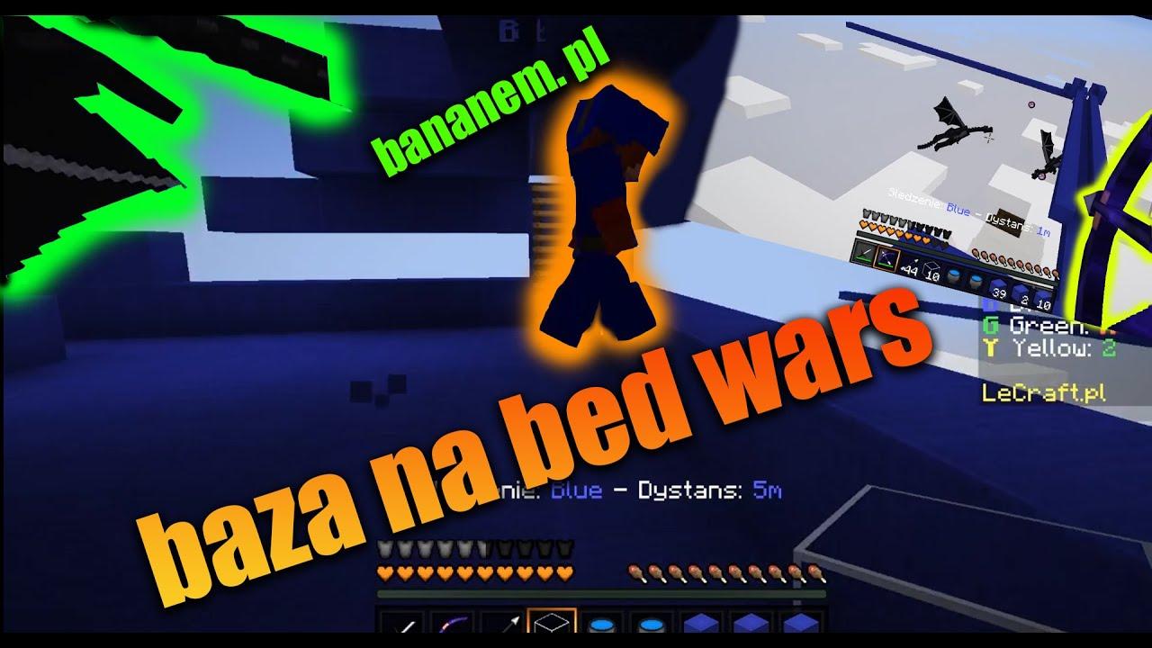 ZWARIOWANE BED WARS Z BANANKIEM !!!