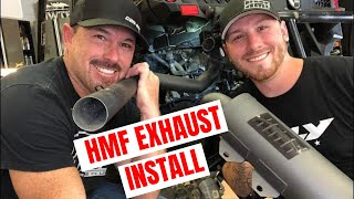 HMF Titan Exhaust & Optimizer Install on our Can-am Maverick Trail