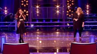 The Voice UK 2013 | Alys Williams Vs Lareena Mitchell: Battle Performance - Battle Rounds 3 - BBC