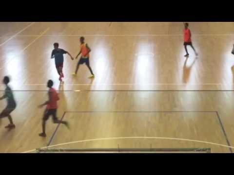 TAYLOR UGAVA (15YRS) PNG U17 FOOTBALL TRAINING 2016 ⚽️