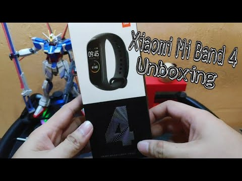 Mi Band 4 Unboxing ( Tagalog Review )
