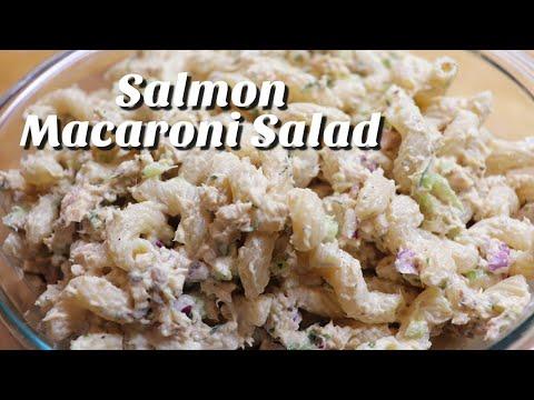 Salmon Macaroni Salad / Side Dish / Quarantine Cooking