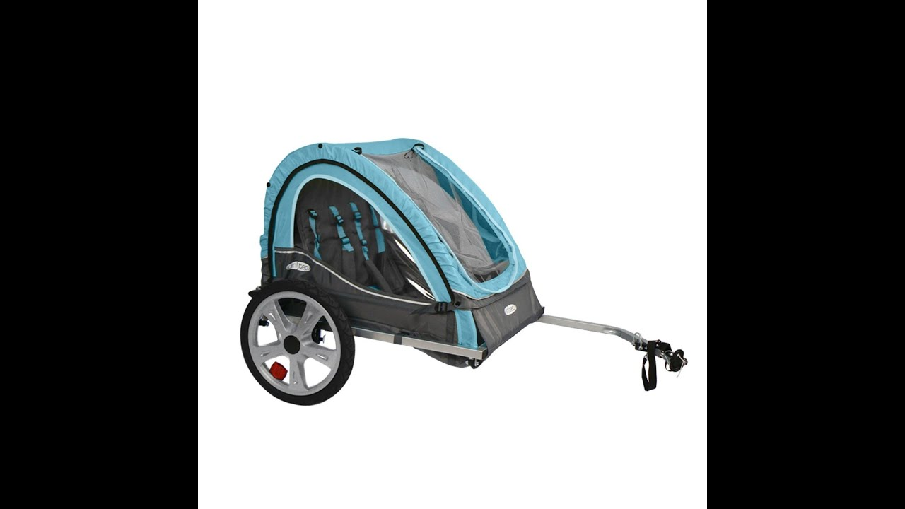 Instep Take 2 Bicycle Trailer Review Youtube