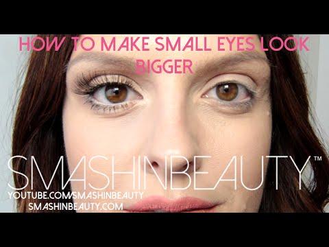 How to Make Small Eyes Look Bigger -