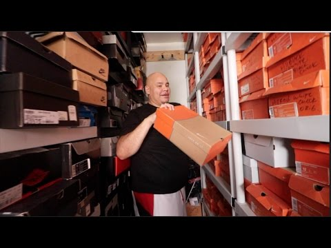 FAT JOE CRAZY SNEAKER COLLECTION !!!!!!