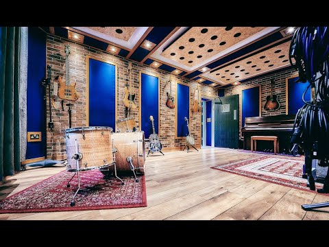 Hive Rooms - Studio and rehearsal room tour