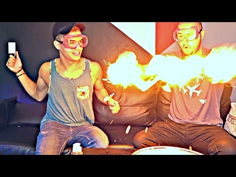 Thumbnail: Fire Hands Experiment ft. Alex Wassabi