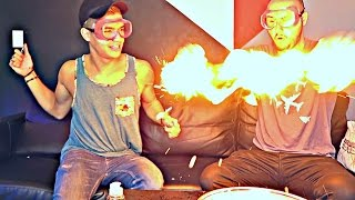 Fire Hands Experiment ft. Alex Wassabi
