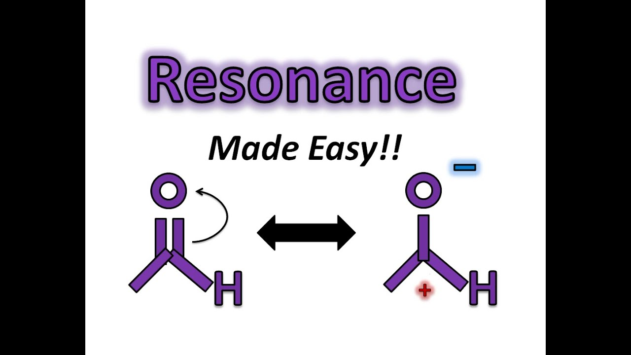 Resonance Made Easy! Finding the Most Stable Resonance Structure - Organic  Chemistry