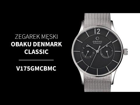 Zegarek Obaku Denmark Classic V175GMCBMC | Zegarownia.pl