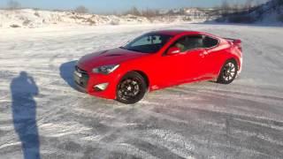 Контраварийное вождение + Дрифт/ Автошкола БЦВВМ Барнаул/ Hyundai Genesis Coupe/ Красота и мощь