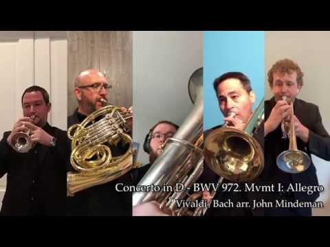 Vivaldi/Bach: Concerto in D - BWV 972