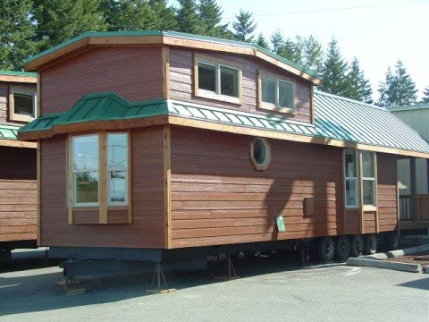 Go Green Less Is More Nice Rv Cabin Instead Of A House