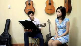 [3 months students] Nỗi nhớ mùa đông - Phú Quang - Cover by Nguyễn Hà - Trang Nhung