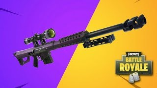 SNIPER RIFLE *ONLY* CHALLENGE IN FORTNITE!!!!!!
