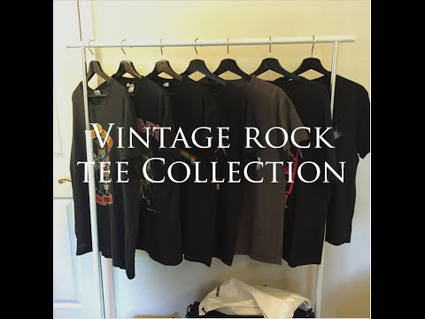 Vintage Rock Tee Collection | Fear Of God Style, Metallica, Led Zeppelin, Etc. | Andy Yang