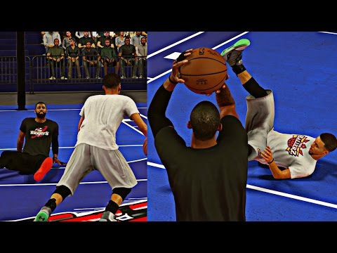 NBA 2K17 1V1 CHALLENGE! WHO BETTER KYRIE IRVING OR STEPHEN CURRY?!?
