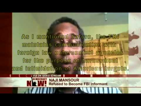 FBI Threatens Man To Become An Informant Or Get Run Over