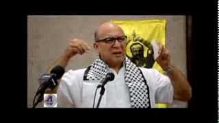 Minister Trevor Manuel at Free Marwan Barghouthi rally