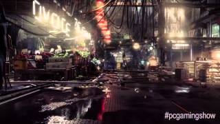 New Deus Ex: Mankind Divided gameplay - PC Gaming Show 2015